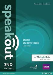 Speakout 2nd Starter SB+DVD Pack with MyEnglishLab
