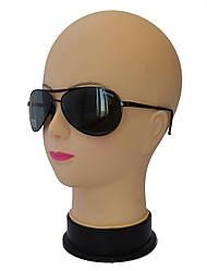 Мужские солнцезащитные очки со стеклянными линзами Baguan