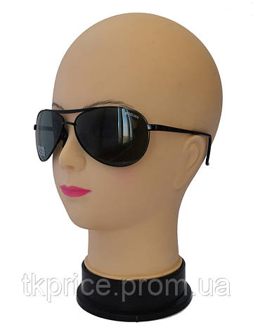 Мужские солнцезащитные очки со стеклянными линзами Baguan, фото 2