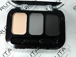 Parisa Cosmetics Eye Shadow Trio тройные тени для век (20) матовые