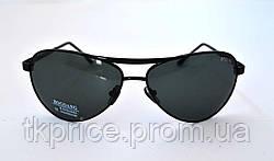 Мужские солнцезащитные очки со стеклянными линзами Baguan, фото 3