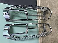 Citroen Jumper 2014↗ Накладки на стопы хромированые