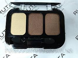 Parisa Cosmetics Eye Shadow Trio тройные тени для век (24) перламутровые