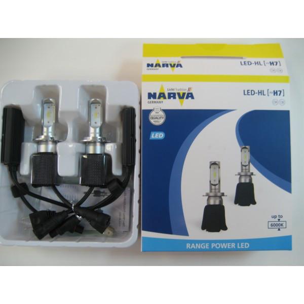 LED лампы H7 Narva Range Power 18005