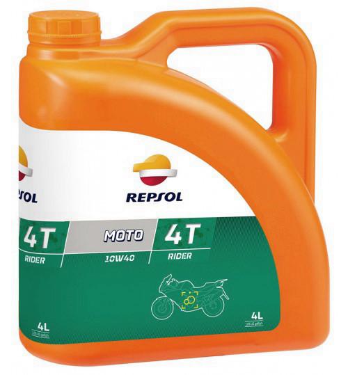 Моторное масло Repsol Moto Rider 4T 10W40 (4л)