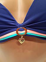 Купальник  88041 Подвески синий на наши 42  размеры. , фото 3