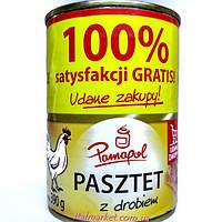 Паштет куринный Pamapol Pasztet 390 г