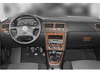Volkswagen Bora 1998-2004 накладки на панель цвет дерево