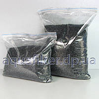 Гранулированный активированный кокосовый уголь для фильтров воды 1 кг КРУПНАЯ ФРАКЦИЯ