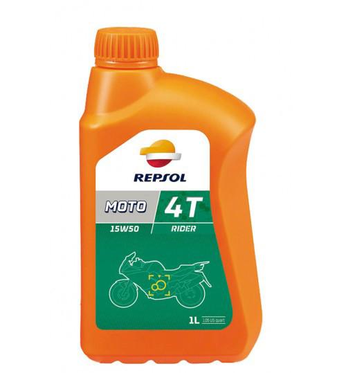 Моторное масло Repsol Moto Rider 4T 15W50 (1л)