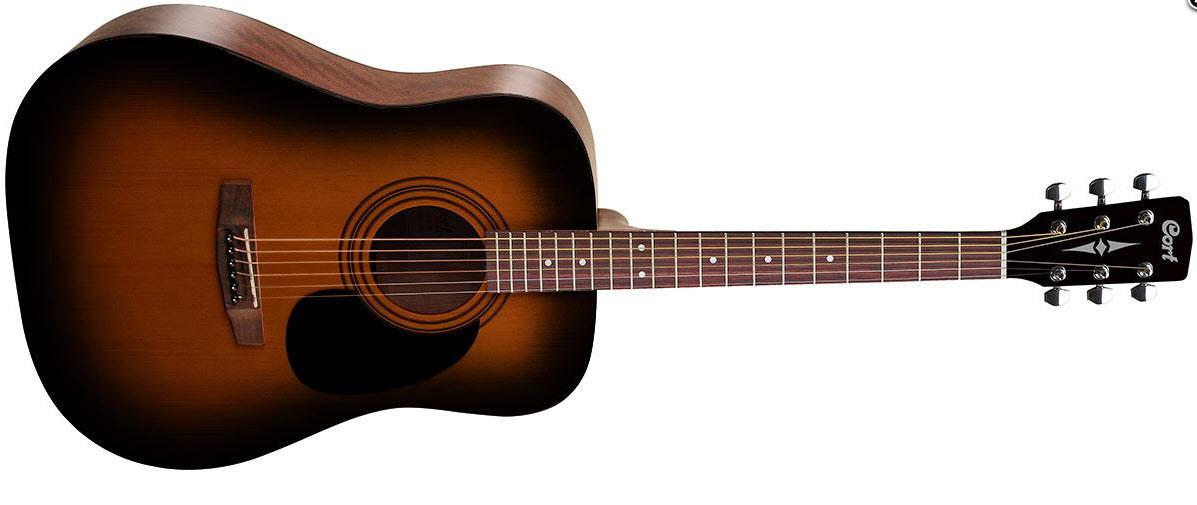 Акустическая гитара CORT AD810 (SSB) Дредноут / вестерн