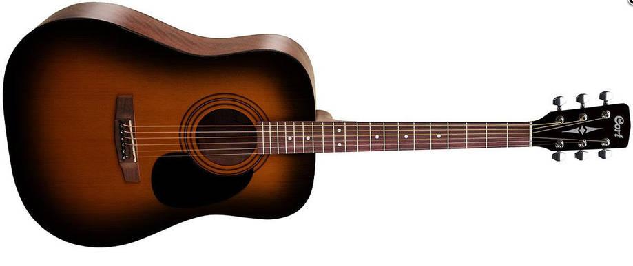 Акустическая гитара CORT AD810 (SSB) Дредноут / вестерн, фото 2