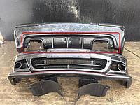 Юбка диффузор заднего бампера тюнинг BMW E39 M