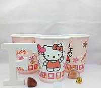 Бумажные стаканчики Китти