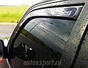 Дефлекторы окон (ветровики) Honda Accord 1997-2002 4D 4шт (Heko) sedan, фото 6