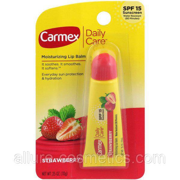 Carmex strawberry tube клубника