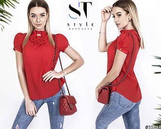 Блузка в расцветках (0015-067)