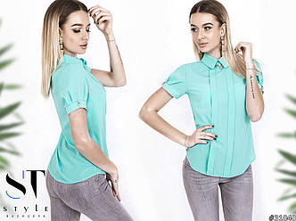 Блузка в расцветках (0015-063)