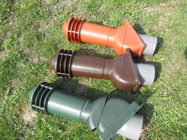 фото трьох вентвыходов