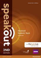 Учебник Speakout 2nd Advanced SB+DVD Pack & MyLab