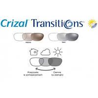 Фотохромная утонченная линза Ormix 1.6 Transitions VII Brown/Grey Crizal Forte UV. (Есть астигматика) Essilor