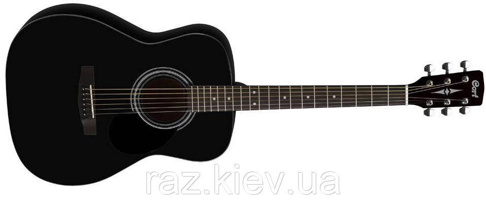 Акустическая гитара CORT AF510 (BKS) Дизайн гитары: Концертный