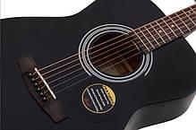 Акустическая гитара CORT AF510 (BKS) Дизайн гитары: Концертный, фото 3