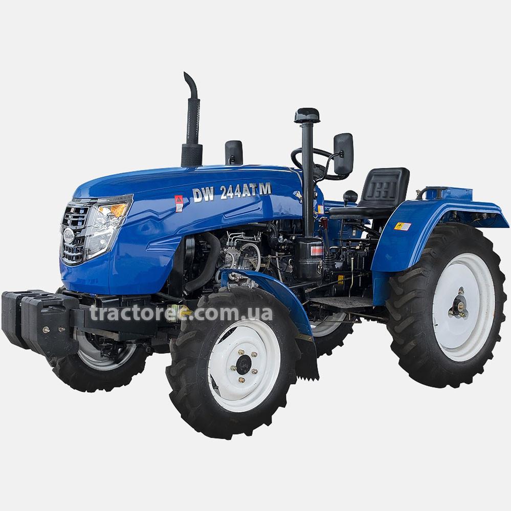 Трактор DW 244 ATM, 3 цил, 4*4, широкая резина, блокировка, ВОМ, цена-качество!