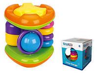 Разв.игрушка для малышей в кор.13,5*13,5*15,0см /48/(SPL300692)