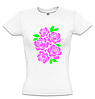 Женская футболка с РОЗАМИ, фото 2
