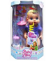 """Кукла функц """"BA"""" может пить через трубочку,задувать свечку,в кор.23*13*36см /12/(28002-B)"""