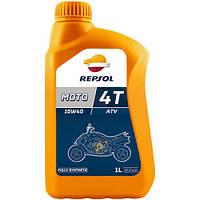 Моторное масло Repsol Moto ATV4T 10W40 (1л)