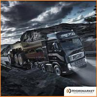 Установка гидравлики на Volvo