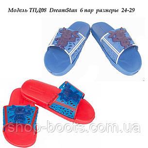 Детские резиновые сланцы оптом DreamStan. 24-29рр. Модель ТПД08, фото 2