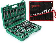 Набір головок ключів інструментів Torx Tagred 108 ел + 12ел VERKE