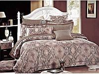 Комплект постельного белья сатин  Arya евро размер Ines