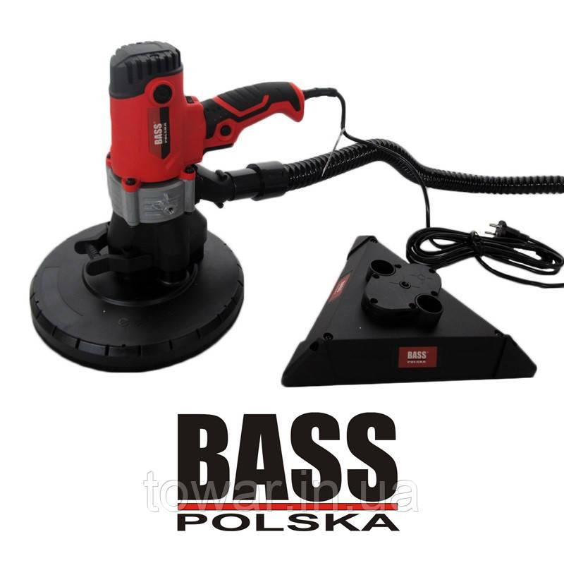 Шлифмашина ручная BASS 850W с 2 насадками Польша