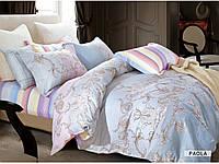 Комплект постельного белья сатин  Arya евро размер PAOLA