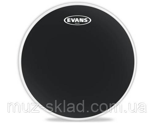 "Evans B14HBG Hydraulic Black чёрный двухслойный пластик 14"""
