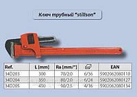 Ключ трубный Stillson, 450 мм.,  Top Tools  34D205