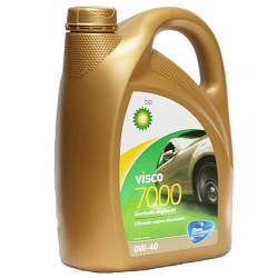 VISCO 7000 0W-40 R1-V7040 4л