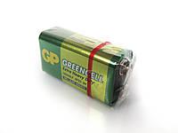 Батарейка GP 1604GLF-S1 Greencell 6F22 крона, 9V, трей