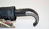 Мужской черный зонт полуавтомат  от фирмы max comfort