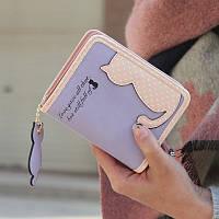 Уценка .Брак. Женский кошелек.Кошелек для девушек, девочек. УЦЕК26, фото 1