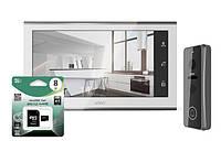 Комплект видеодомофон ARNY AVD-730 white+AVP-NG422
