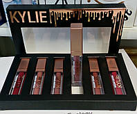 Набір матових рідких помад Kylie Holiday Edition, 6 штук в наборі., фото 1