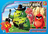 "Пазлы серии ""Angry Birds"" 35 эл. (полотно 210*300мм) в кор. 19х13х3см GToys(B001028)"