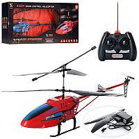 Вертолет XY138  р/у, аккум, 51см,гироскоп,свет,3,5канала,запасн.лопасти,2цв,в кор,75-29-11см