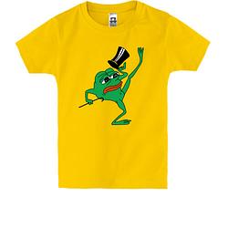 Детская футболка pepe the frog