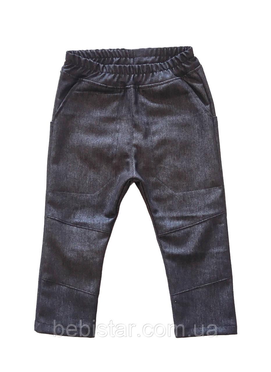 Детские джинсовые джоггеры малышам